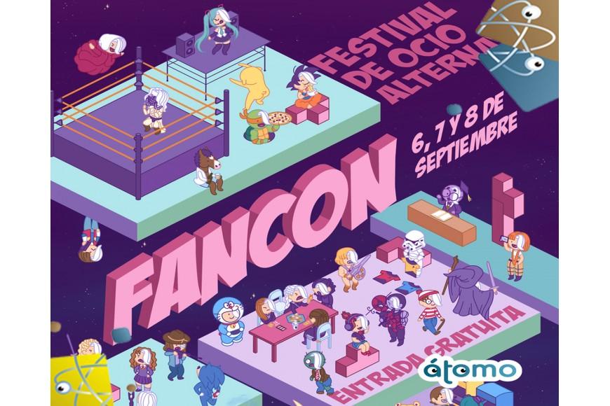 Los juegos de mesa familiares de ÁTOMO estarán en las FANCON