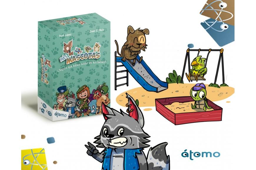 Novedad en Juegos de Mesa Familiares: MAS MASCOTAS