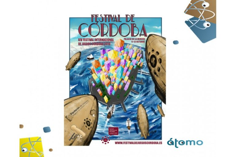 Nuestros juegos de mesa familiares en el Festival Internacional de juegos de Córdoba