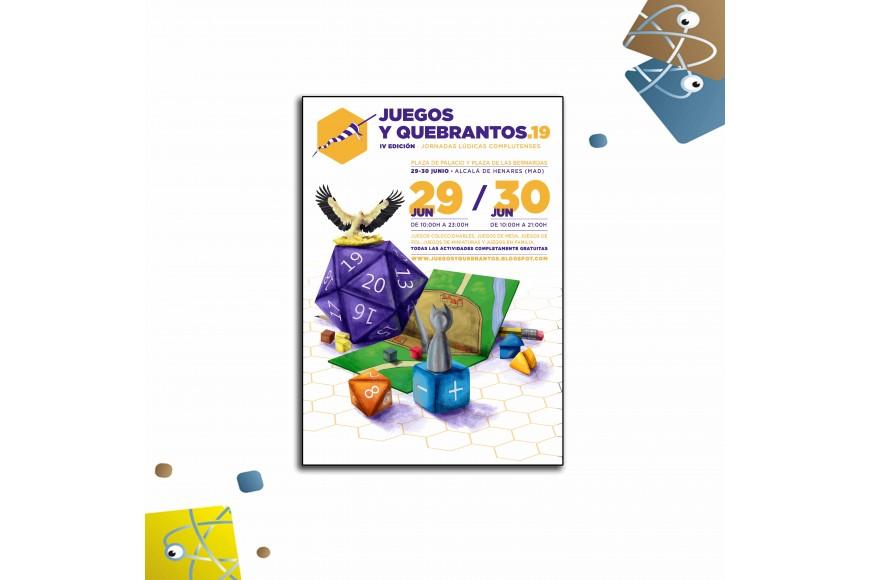 ÁTOMO GAMES EN JORNADAS LÚDICAS JUEGOS Y QUEBRANTOS 2019