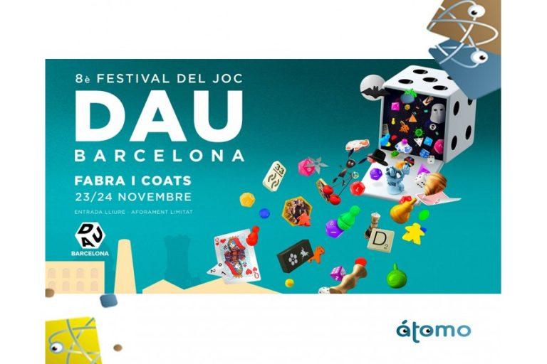 Nuestros juegos de mesa familiares en el 8º Festival del Joc DAU Barcelona
