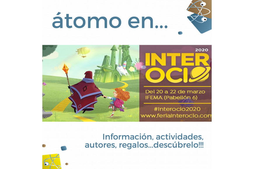 ÁTOMO GAMES EN FERIA INTEROCIO MADRID 2020