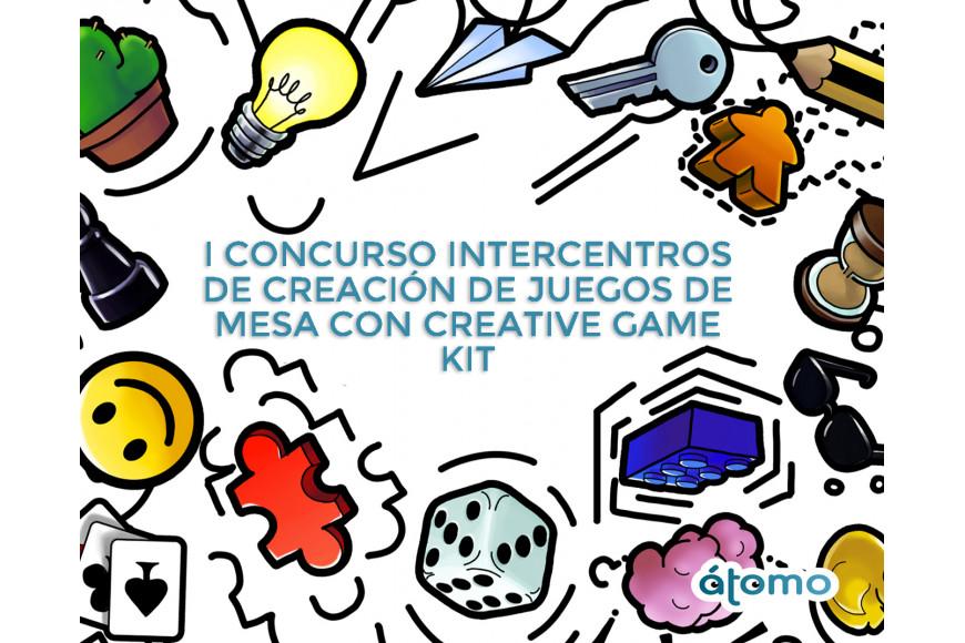 I CONCURSO INTERCENTROS DE CREACIÓN DE JUEGOS DE MESA CON CREATIVE GAME KIT