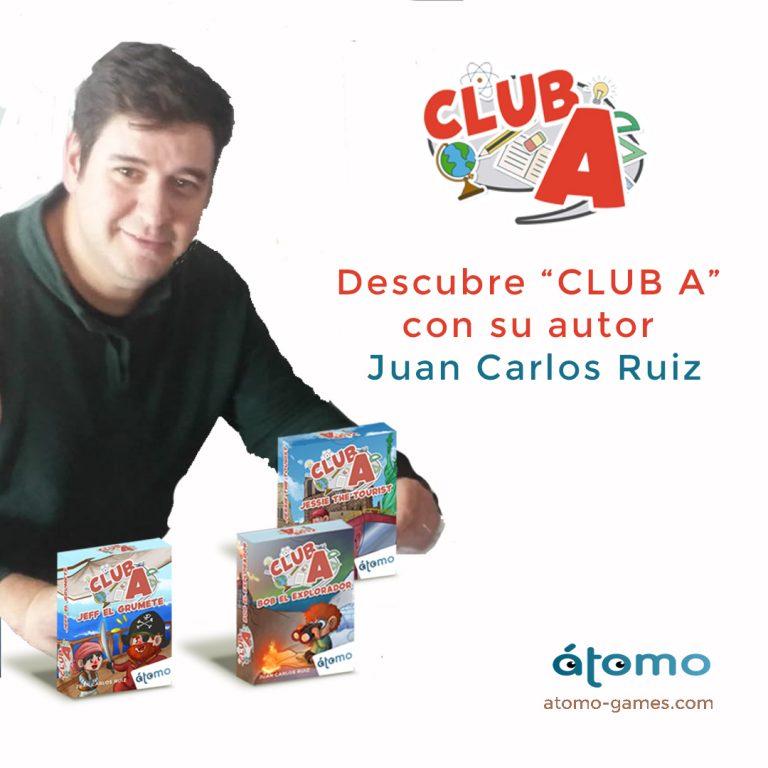 Descubre Club A con su autor. Entrevista Juan Carlos Ruiz