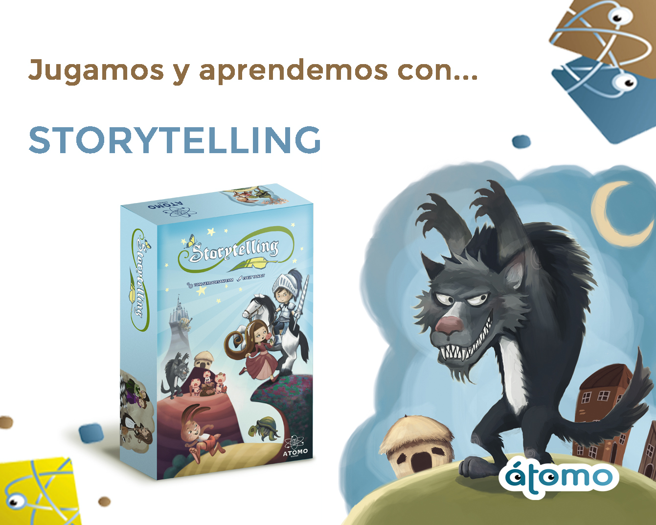 Storytelling: el arte de contar (e inventar) cuentos.