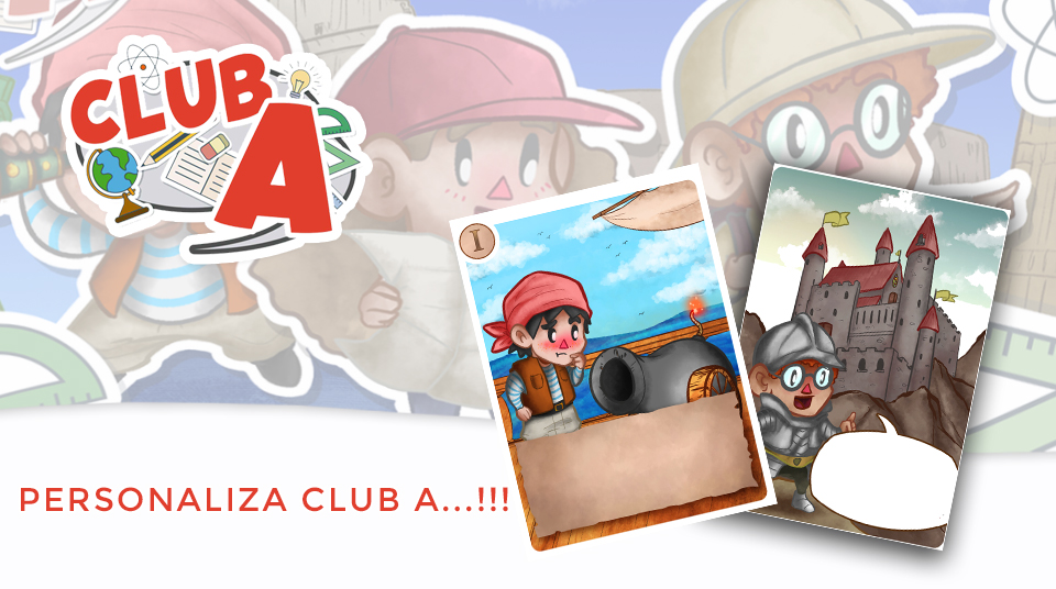 Club A: Crea tus cartas y corrección de erratas