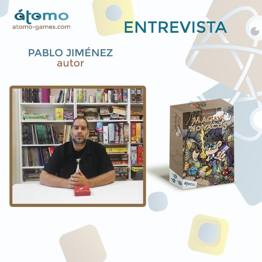 Magus Novatus. Entrevista con Pablo Jiménez (autor)