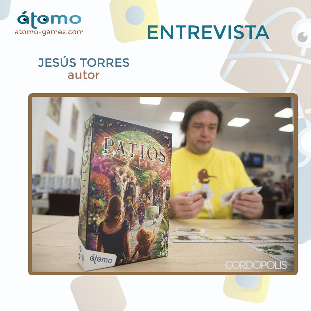 Patios. Entrevista con Jesús Torres (autor)