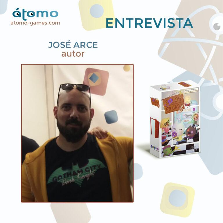 Solos en Casa. Entrevista con José Arce (Autor)