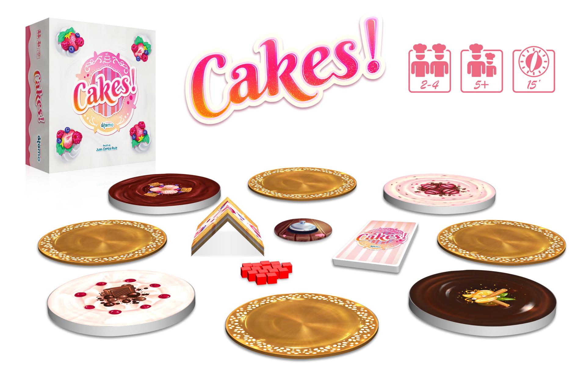 juego de mesa cakes!
