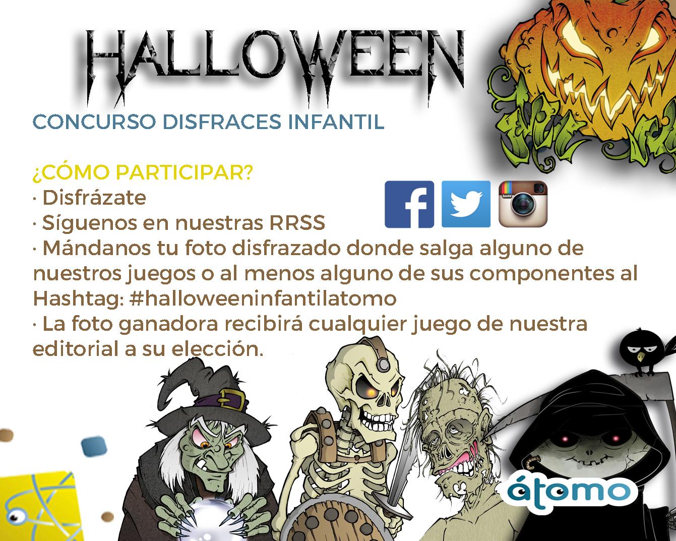Información concurso infantil Halloween 2019