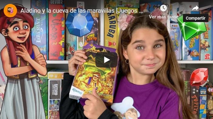 Video reseña juego Aladino y la cueva de las maravillas