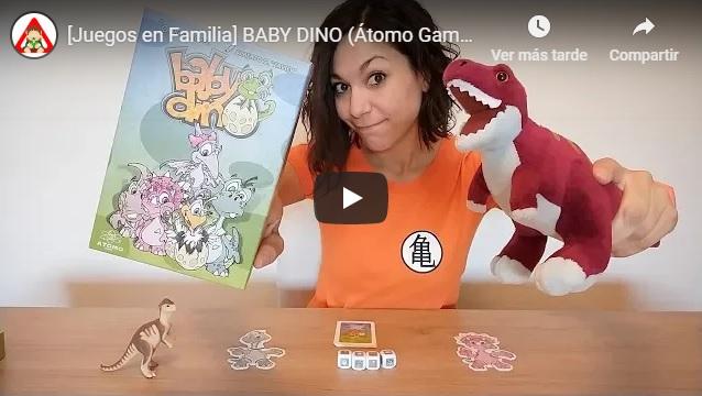 Video presentación juego familiar Baby Dino