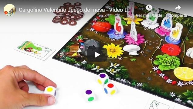 Tutorial del juego de mesa familiar Cargolino Valentino