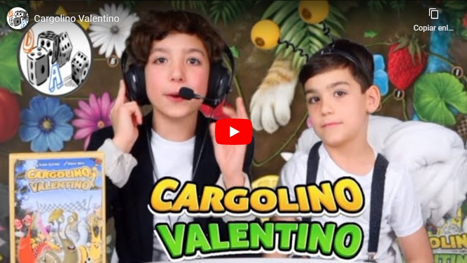 Presentación juego Cargolino Valentino