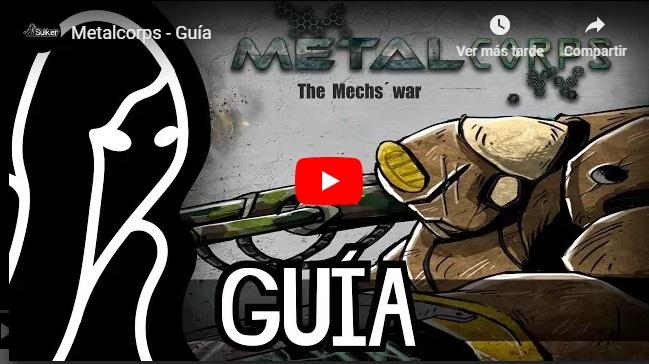 Vídeo presentación juego Metalcorps
