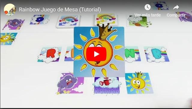 Juego de Cartas Rainbow por Consola y Tablero