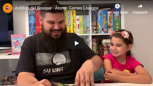 Video Tutorial juego Ardillas del Bosque
