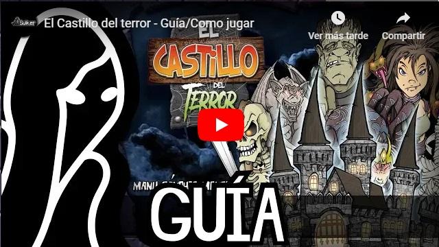 Presentación y tutotial juego de cartas el castillo del terror